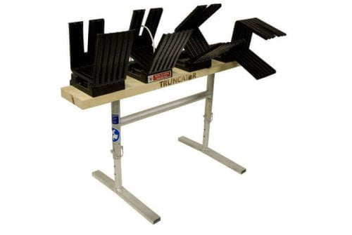 Truncator 4Fold multilog sawhorse logging bench Tipping