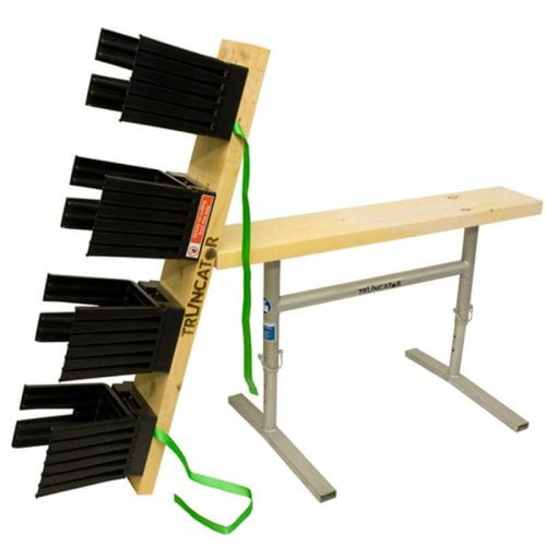 Truncator Multi 4 Fold logging bench