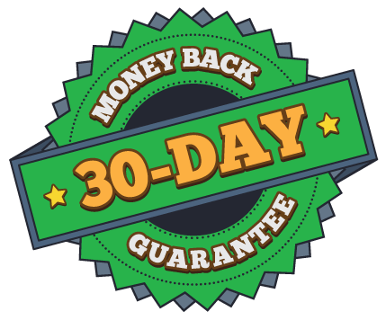 money back 30 day guarantee on chainsaw sawhorses