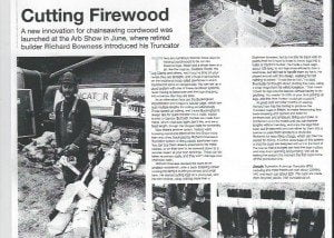 Living woods cutting Firewood review